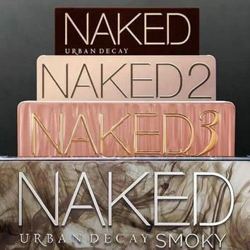 Stylish 12 Colors Urban Decay Naked Eyeshadow Palettes