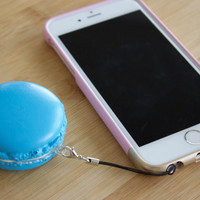 Kawaii Macaroon SQUISHY / Cake dust plug / Phone charm / Yummy / Cute
