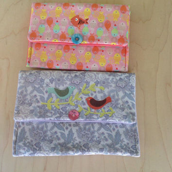 Belt Clutch Phone Cozy Fun Prints Selection of 4 Choose One