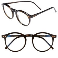 Women's Wildfox 'Steff' 54mm Optical Glasses - Tortoise