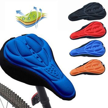 3D Soft Bike Seat Saddle for A Bicycle Cycling Silicone Seat Mat Cushion Seat Cover Saddle Bicycle Bike Accessories Dropshipping