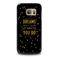 KATE SPADE QUOTE Samsung Galaxy S7 Case Cover