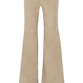 Alexis Rania suede wide-leg pants – 50% at THE OUTNET.COM