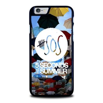 5 seconds of summer 4 5sos iphone 6 6s case cover  number 1