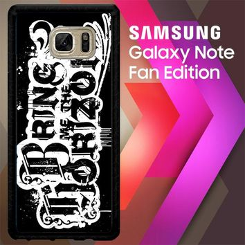 Bring Me The Horizon F0354 Samsung Galaxy Note FE Fan Edition Case