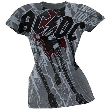 AC/DC - High Voltage All-Over Juniors T-Shirt