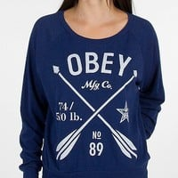 OBEY Crossed Arrows Sweatshirt - Women's Sweatshirts | Buckle