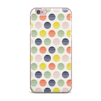 "Gukuuki ""Rainbow Dots"" Multicolor Vector iPhone Case"