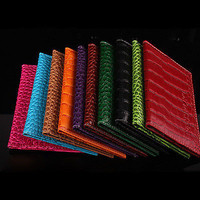 Alligator embossing Passport Holder Cover PU Leather Wallet Light Item