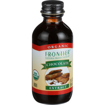 Frontier Herb Chocolate Extract - Organic - 2 oz