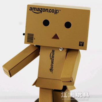 Danbo - Japanese Danboard Figure PVC Mini Action Toy Figure with LED Light