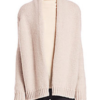 Joie - Brunone Cozy Open-Front Cardigan - Saks Fifth Avenue Mobile