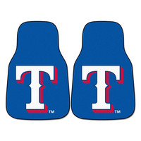 Texas Rangers MLB Car Floor Mats (2 Front)