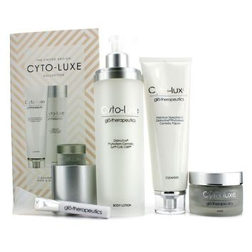 Cyto-Luxe Collection (Limited Edition): Body Lotion + Cleanser + Mask + Mask Applicator - 4pcs