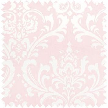 Pink Damask Fabric By The Yard | 100% Cotton