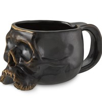 Halloween Skull Mugs, Set of 4