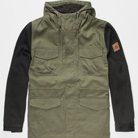 Matix Town Runner Mens Jacket Army  In Sizes