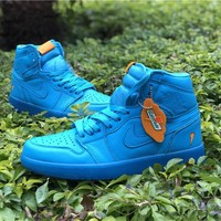 Air Jordan 1 Retro High Gatorade Blue Lagoon AJ1 Sneakers - Best Deal Online