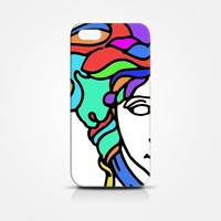 Versace Colorful iPhone Case 3D Style - iPhone 4/4s, iPhone 5/5s/5c, iPhone 6/6s/6+/6s+ (iPhone 4/4s)