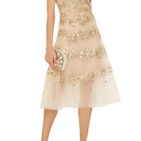 Embellished Tulle Cocktail Dress | Moda Operandi