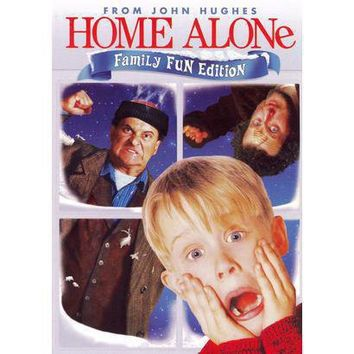 From John Hughes: Home Alone - Family Fun Edition (Widescreen) (Dual-layered DVD)