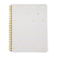 Gold Star Notebook, Grey