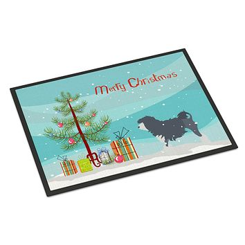 Lowchen Merry Christmas Tree Indoor or Outdoor Mat 24x36 BB2953JMAT