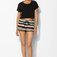 Kenny Relay Flame-Stitch Short - Urban Outfitters