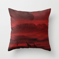 Last life Throw Pillow by Berwies