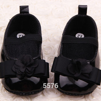 New Newborn Baby Shoes Prewalker First Walkers Lovely baby Sneakers Infantil Kids Girls Princess ShoesFree Dro NW