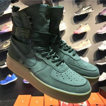 "Nike Special Field Air Force 1 SF AF1 HIGH ""SPECIAL FIELD URBAN UTILITY"" 859202 339 faded olive"