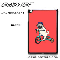 Pug Bicycle For Ipad Mini 2 Ipad Mini 3 Ipad Mini 4 Case Please Make Sure Your Device With Message Case UY