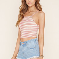 Striped Cropped Cami