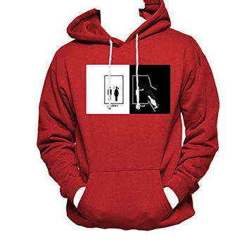 Harry Potter Ravenclaw MEN WOMEN UNISEX PULLOVER FUNNY GRAPHIC HOODIE - Red