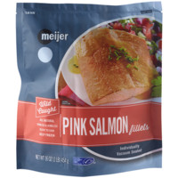 Meijer Wild Caught Pink Salmon Fillets, 16 oz