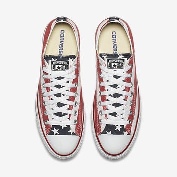 The Converse Chuck Taylor All Star Americana Low Top Unisex Shoe.