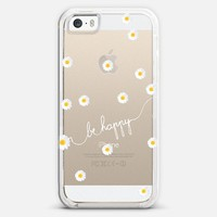 *** HAPPY DAISY CRYSTAL CLEAR ***  iPhone 5s case by Monika Strigel | Casetagram   Get 20 % on Memorials Day with Code : MAY2014