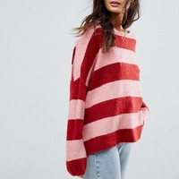 Only Stripe Knit at asos.com