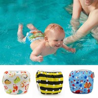 10-40 lbs Waterproof Adjustable Swim Diaper Pool Pant Swimming Diaper Baby Reusable Washable Swimming Pool Cover 27 Style