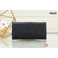 GUCCI 2018 counter models women's exquisite fashionable clutch F-OM-NBPF Black