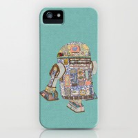 R2D2 crashed into a flower shop iPhone Case by Bianca Green | Society6