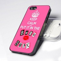 Mean Girls Keep Calm n Put in Burn Book design for iPhone 4 or 4s case
