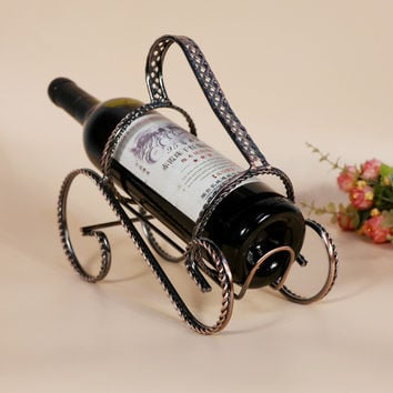 Bottle wine rack.Suit for home and office.Put the wine in right place = 4486858436