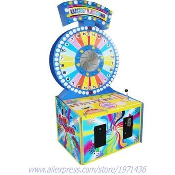 Arcade Amusement Coin Operated Lucky Turning Redemption Games Machine