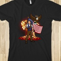 Complete and Total Reaganation-Unisex Black T-Shirt