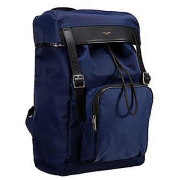 Saint Laurent Hunting Backpack Blue 18926720