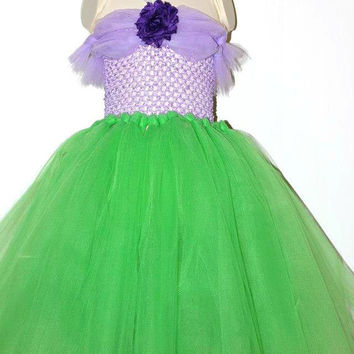 The Little Mermaid, Disney Princess Ariel Tutu Dress, Size 12 Months-4T, Dress-up, Costume, Birthday Party