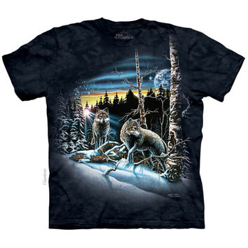 The Mountain Men's  Find 13 Wolves T-shirt