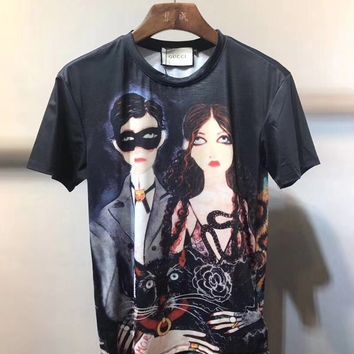 T-shirt Graphics GUCCI Unskilled 08