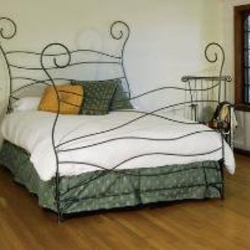 Ripple Bed By Deliafurniture On Etsy From Deliafurniture